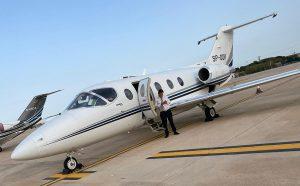 Hawker 400XP at Mallorca Airport
