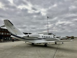 CJ2+ at Southend Airport
