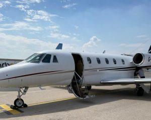 Cessna Citation XLS at Verona Airport