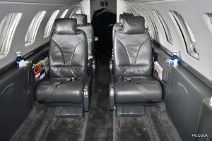 Cessna Citation CJ3 interior