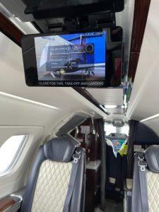 Embraer Phenom 300E cabin interior